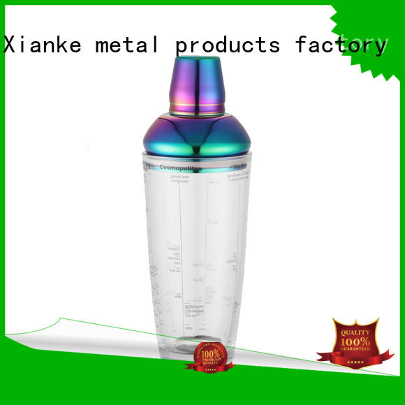 Xianke top selling stainless steel shaker novelty for wholesale