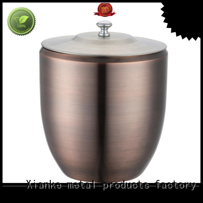 highly-rated wholesale ice buckets for sale cut for restaurant Xianke