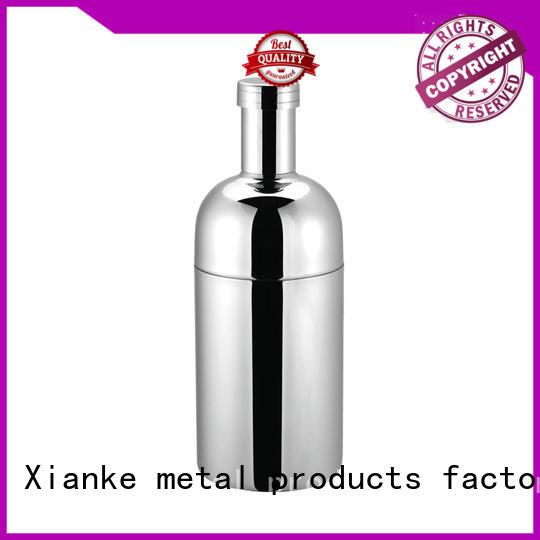 Xianke custom stainless steel shaker rocket for cocktail