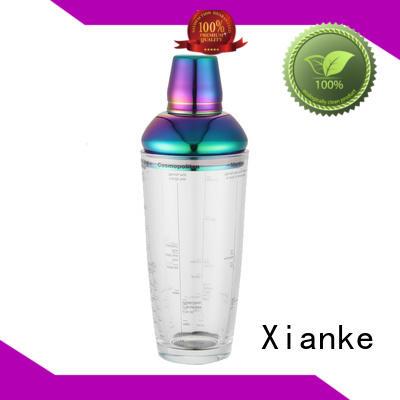 Xianke custom custom drink shaker novelty for vodka