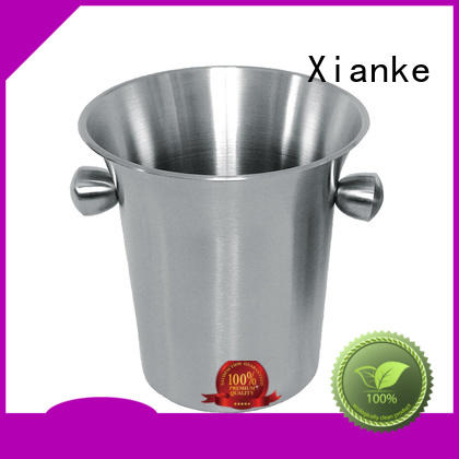 Xianke large capacity bulk ice buckets high quality for bar