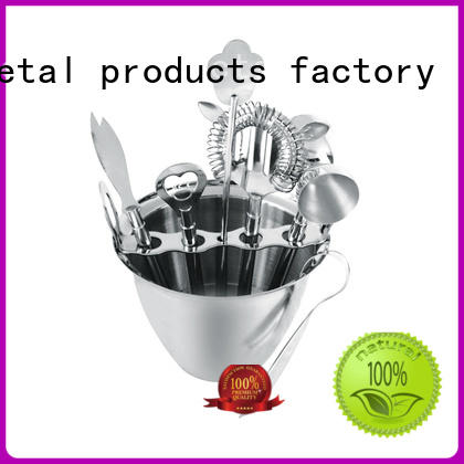 stainless steel personalised cocktail set top brand black for wholesale