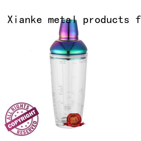 Xianke hot-sale custom ice shaker body for boston