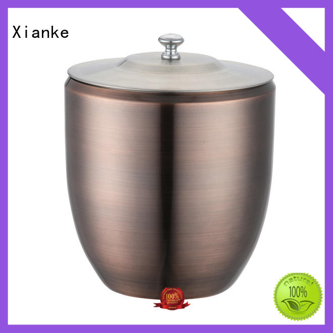 Xianke large capacity stainless ice bucket tong for wine