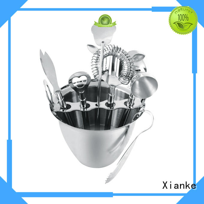 stainless steel bartender cocktail mixing set unique set for club