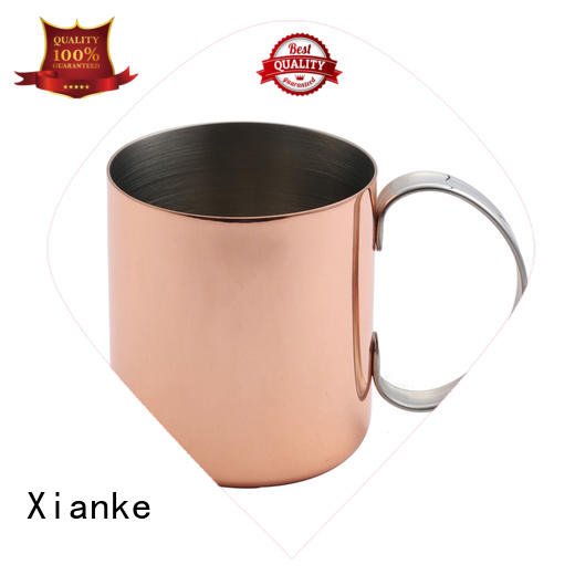 Xianke copper stainless steel wine tumblers high quality for margarita