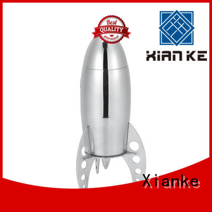 factory price custom cocktail shaker rocket for wholesale