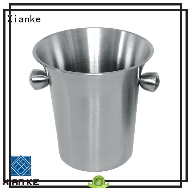 Xianke high quality custom ice bucket carry for club