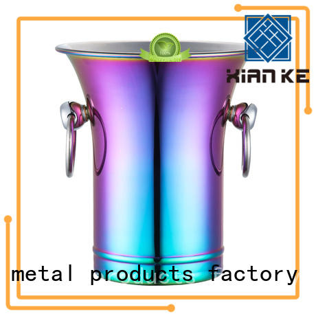 shaped ice bucket manufacturer durable cut for party