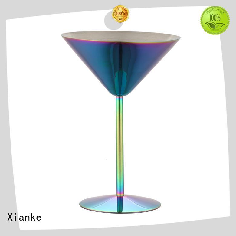Xianke copper insulated steel tumbler barrel for martini