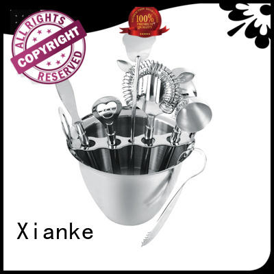 universal stainless bar set unique for wholesale Xianke