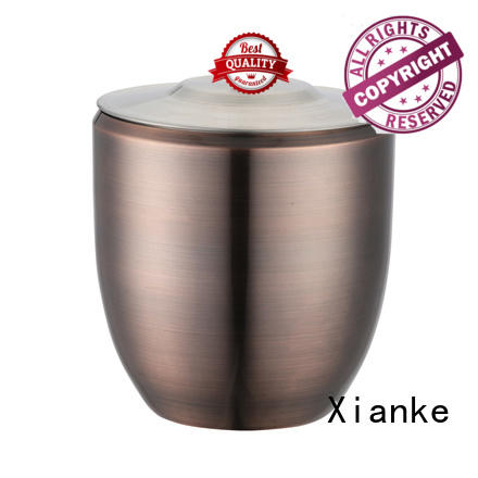 oval stainless steel champagne bucket with stand tong for gathering Xianke