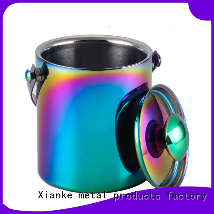 highly-rated stainless ice bucket high quality for party Xianke