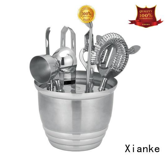 Xianke custom margarita cocktail mixing set bar ware