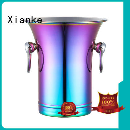 high quality ice bucket double wall cut for party