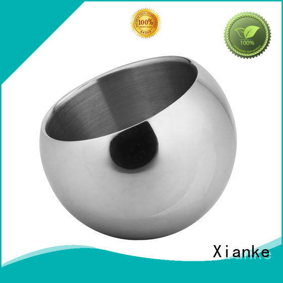 Xianke highly-rated wholesale stainless steel ice bucket sloped for bar