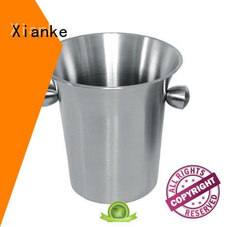 Xianke durable personalized metal ice bucket tong for party
