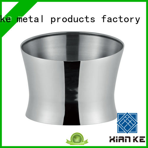 Xianke shaped personalized metal ice bucket high quality for bar