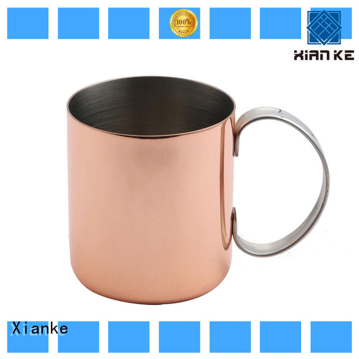 Xianke double stainless steel wine cup zinc alloy for wine