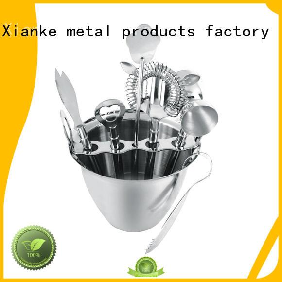 stainless steel bar kit vintage shaker Xianke