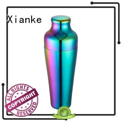 metal martini shaker custom for wholesale Xianke