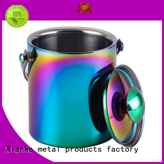 Xianke stainless steel stainless wine cooler buckets high quality for wine