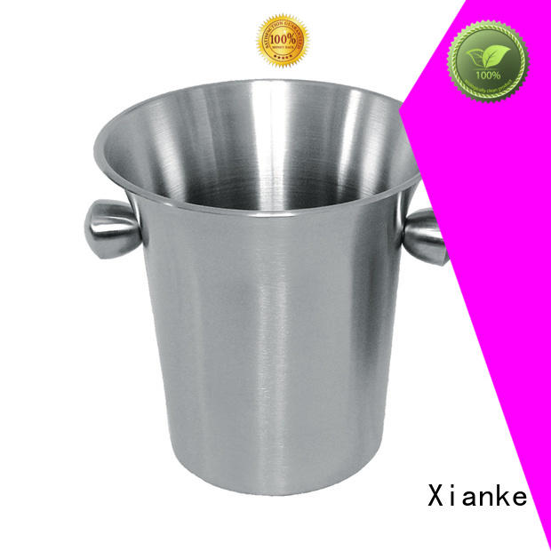 Xianke stainless steel beer bucket tong for gathering