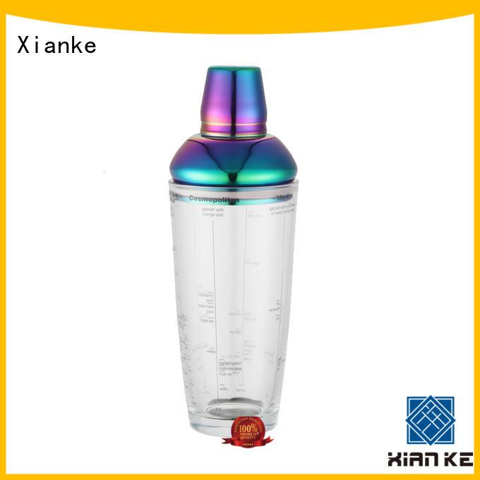 Xianke custom custom ice shaker menu printing for martini
