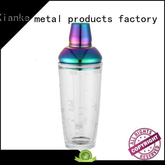 factory price stainless shaker rocket for cocktail