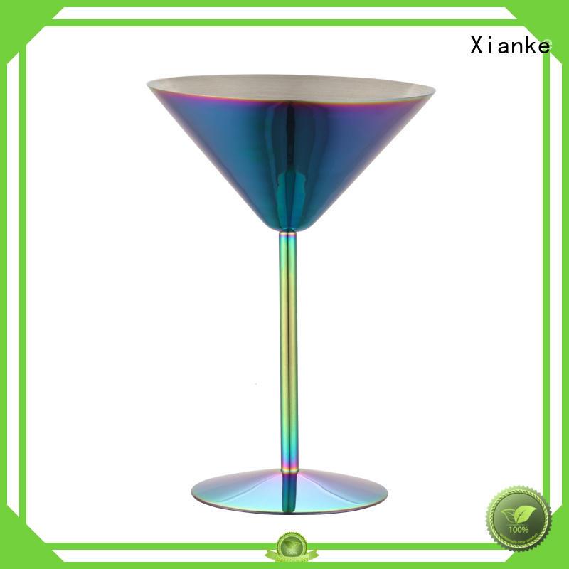 stainless beer mug tumbler martini Xianke