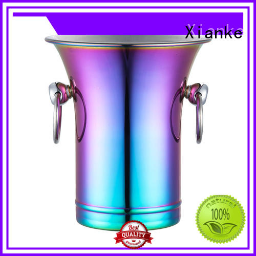 Xianke highly-rated custom ice bucket with handles for gathering