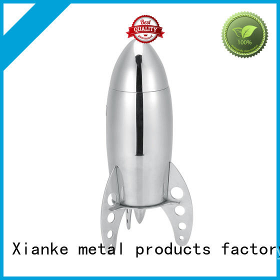 stainless steel stainless steel martini shaker top selling rocket for wholesale