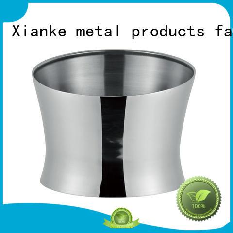 Xianke large capacity ice bucket steel handle for gathering
