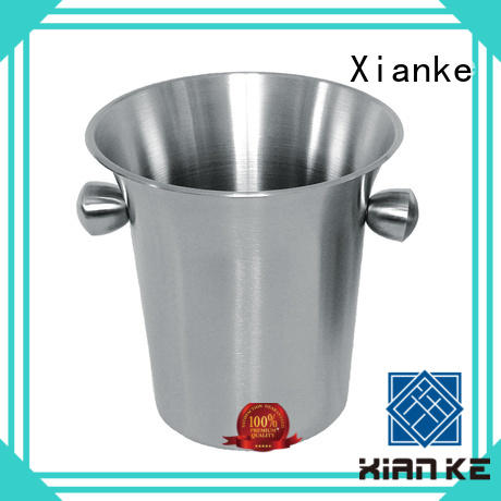 Xianke large capacity custom ice bucket tong for restaurant