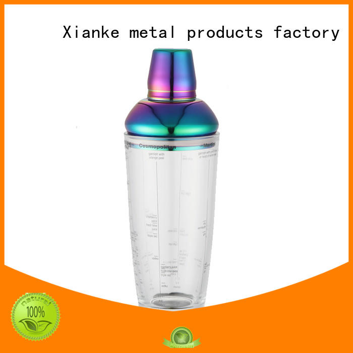 stainless steel steel cocktail shaker hot-sale novelty for vodka