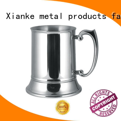 Xianke copper stainless steel tumbler cups barrel for beer