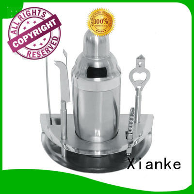 electroplated bartender kit mixing bar ware Xianke
