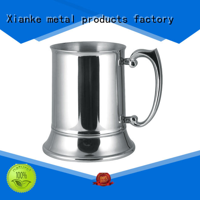 Xianke high quality cheap stainless steel tumblers mug for martini