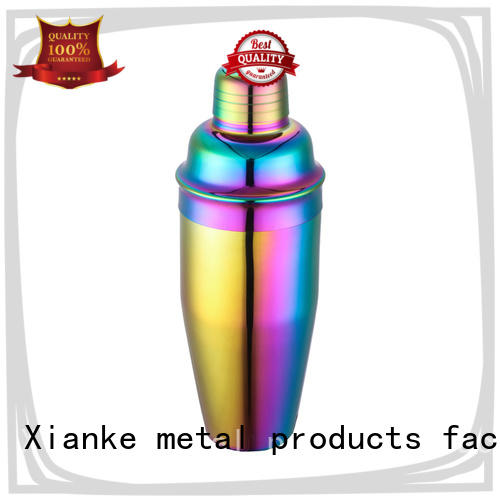 Xianke cheapest custom bar shakers glass for vodka
