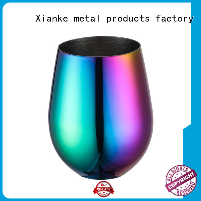 high quality custom drinkware cheap for martini Xianke