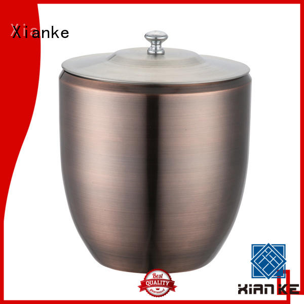 Xianke high quality stainless steel ice buckets wholesale ball for club