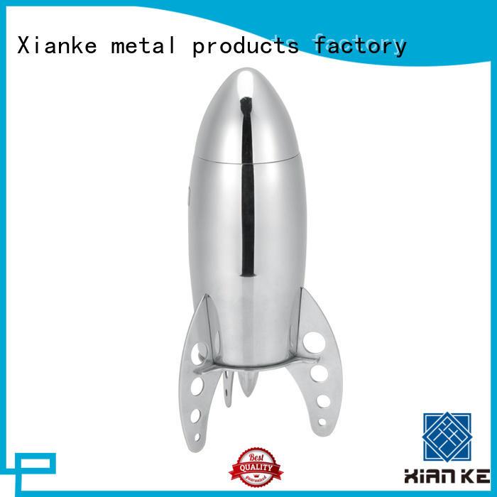 Xianke top selling steel shaker body for vodka