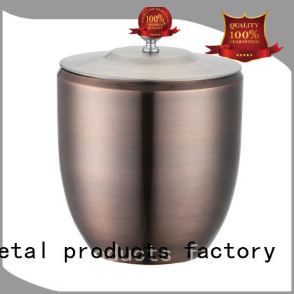 double walled stainless steel wine cooler high quality tong for restaurant