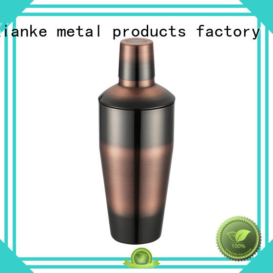 Xianke hot-sale stylish cocktail shaker bottle for cocktail