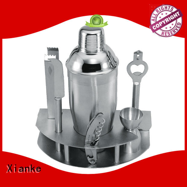 Xianke hot-sale personalised cocktail set gun for club