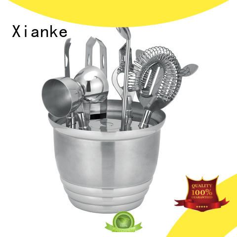 popular personalized cocktail set hot-sale bar ware Xianke