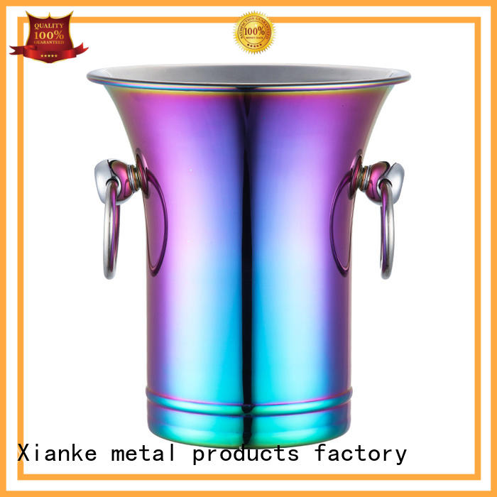 stainless steel ice cube bucket stainless steel ball for club Xianke