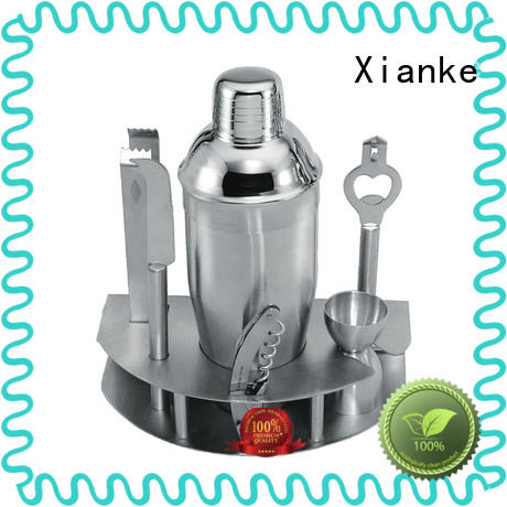 custom bartender set finish bar ware Xianke
