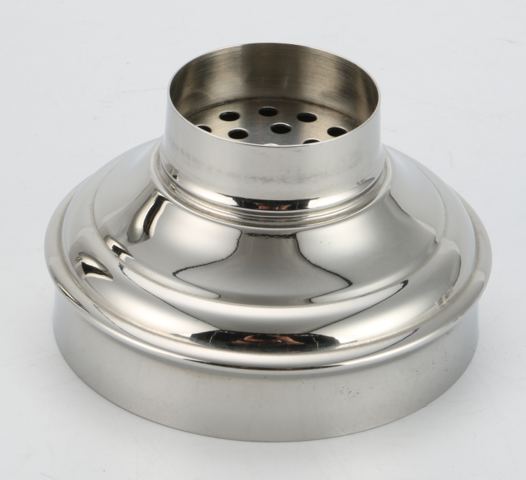 Stainless steel bar shaker with 500ml, 700ml classic 3-piece design-2