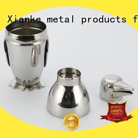 custom personalized cocktail shaker custom for boston Xianke